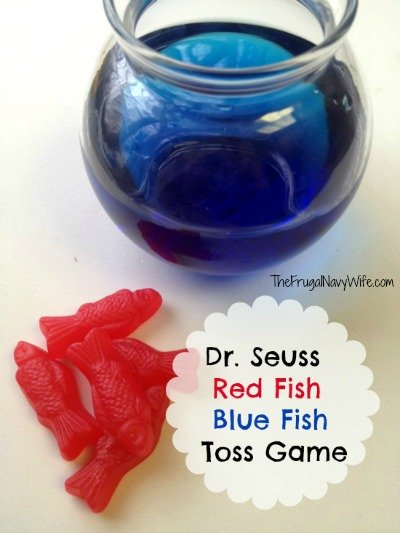 Dr. Seuss Red Fish Blue Fish Game