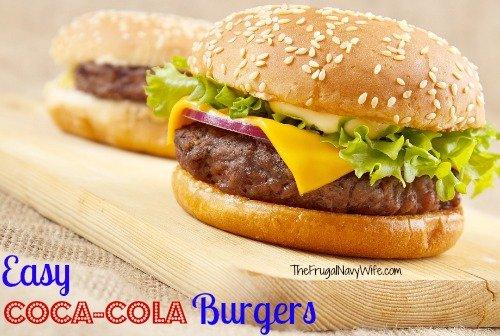 Easy Coca-Cola Burgers