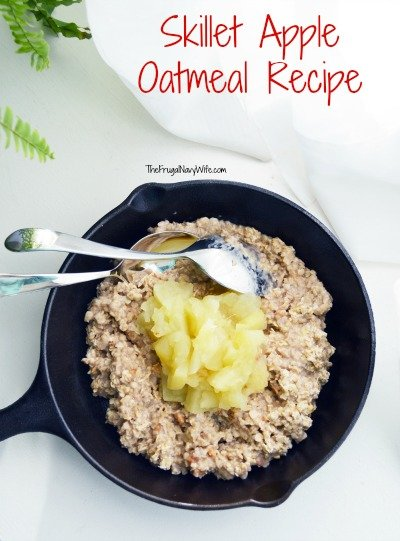 Skillet Apple Oatmeal Recipe