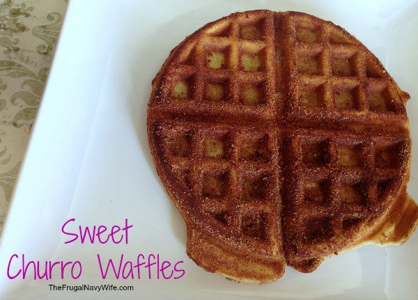 Sweet Churro Waffles