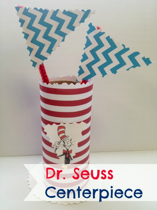 Dr. Seuss Party Centerpiece