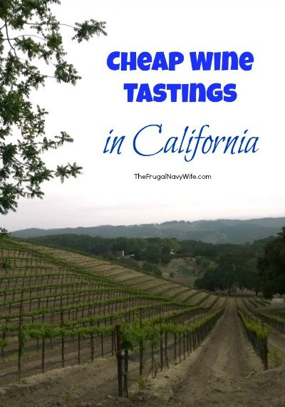 Cheap Wine Tastings in California