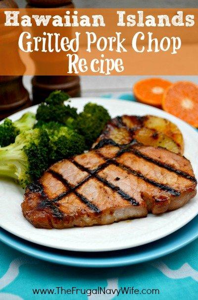 Hawaiian Islands Grilled Pork Chop Recipe