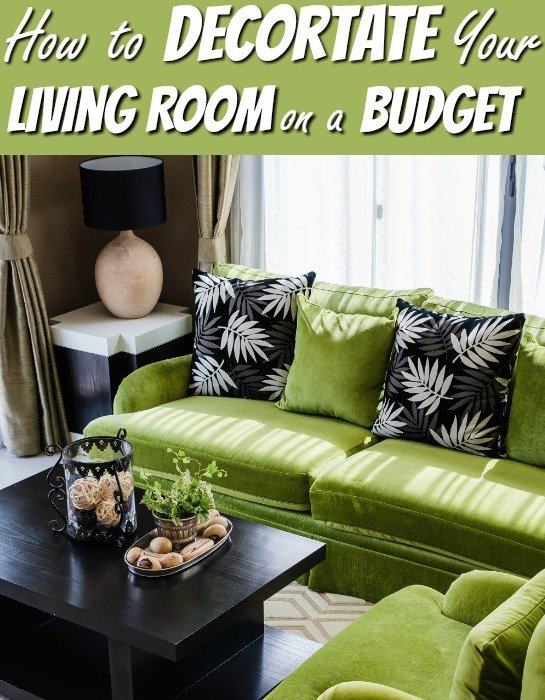 living room decorating ideas on a budget. Black Bedroom Furniture Sets. Home Design Ideas