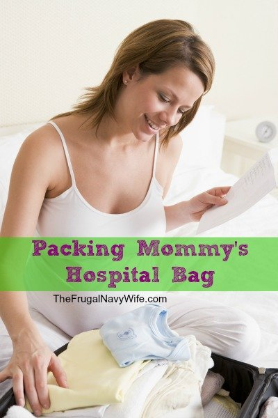 Packing Mommy's Hospital Bag