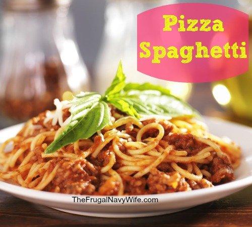 Pizza Spaghetti Recipe | Easy Weeknight Meal