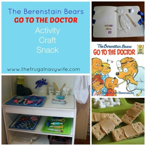 Berenstain Bears Go to The Doctor Unit Study
