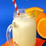 We fell in love with this Copycat Orange Julius recipe and it's a staple in our house especially in the summer months! #frugalnavywife #copycatrecipe #orangejulius #drinkrecipes #smoothies   Orange Julius Recipes   Copycat Recipes   Smoothie Recipes   Drink Recipes   Summer Drinks  