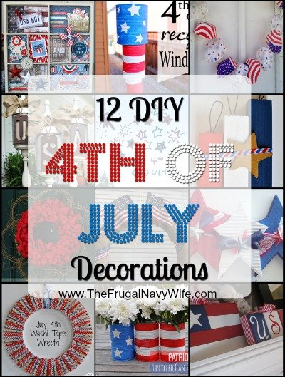 12 DIY 4th of July Decorations