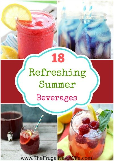 18 Refreshing Summer Beverages Round-Up