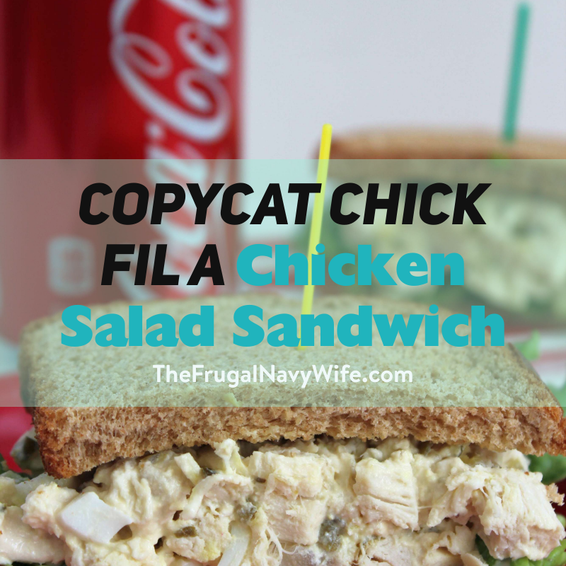 Copycat Chick Fil A Chicken Salad Sandwich