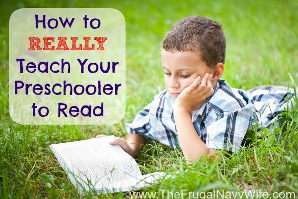 How to REALLY Teach Your Preschooler to Read