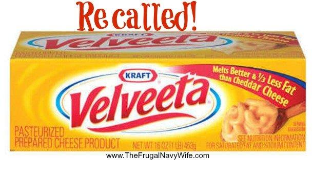 Velveeta Cheese Recall