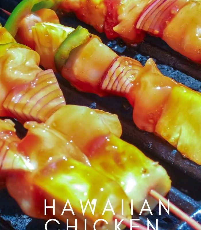 Easy Weeknight Hawaiian Chicken Pineapple Kabobs Recipe