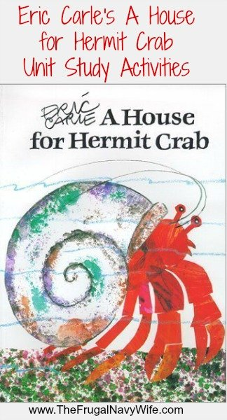 Eric Carle's A House for Hermit Crab Unit Study Activities