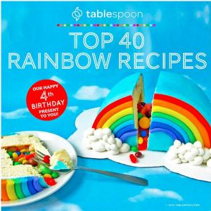 FREE Top 40 Rainbow Recipes Book!