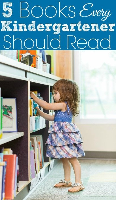 5 Books Every Kindergartener Should Read