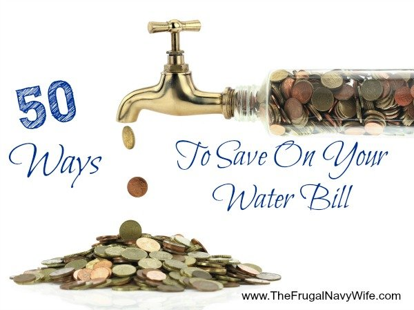 50 Ways to Save on Your Water Bill