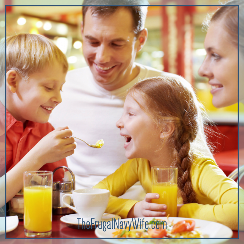 How To Save On Dining Out – An Extremely Frugal Family's Guide to Dining Out