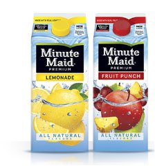 Minute Maid Fruit Drinks