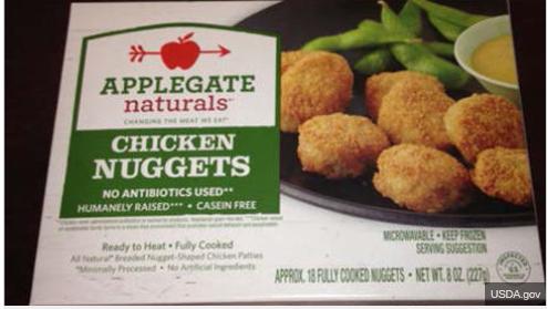Recall Chicken Nuggets