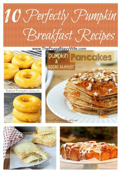 10 Perfectly Pumpkin Breakfast Recipes