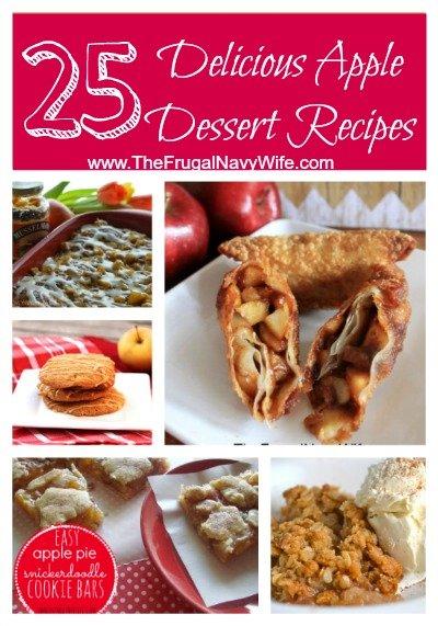 25 Delicious Apple Dessert Recipes