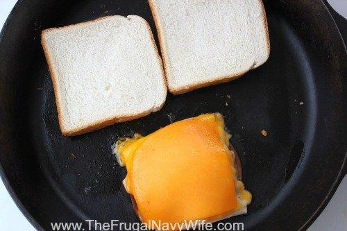 Copycat Applebee's Clubhouse Grilled Sandwich Skillet