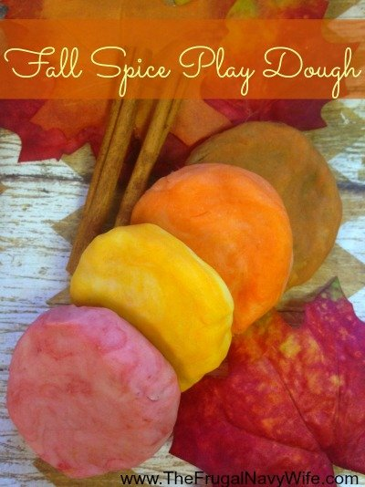 DIY Fall Spice Play Dough