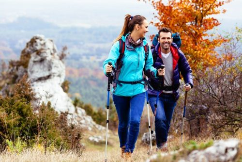 Frugal Fall Date Night Idea Hiking