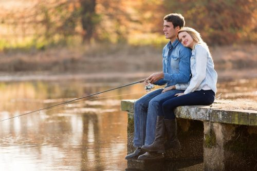 Frugal Fall Date Fishing