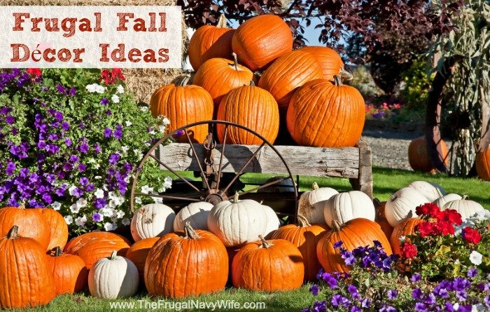 Frugal Fall Décor Ideas