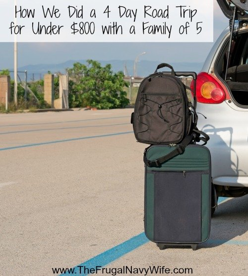 How We Did a 4 Day Road Trip for Under $800 with a Family of 5