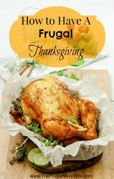 How to Have a Frugal Thanksgiving