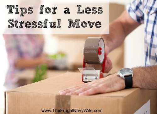 Tips for a Less Stressful Move