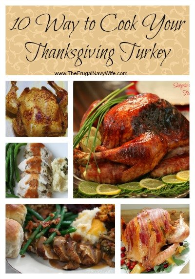 10 Way to Cook Your Thanksgiving Turkey