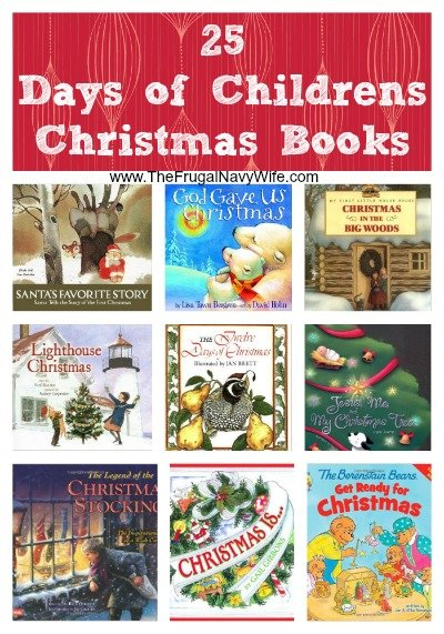 25 Days of Christmas Books for Children