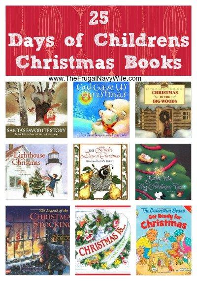 25 days of childrens christmas booksjpg