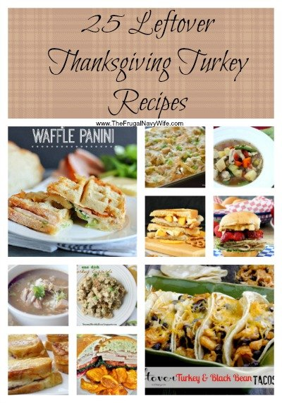 25 Leftover Thanksgiving Turkey Recipes