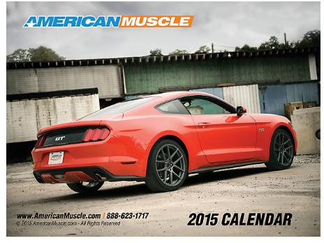Mustang Calendar