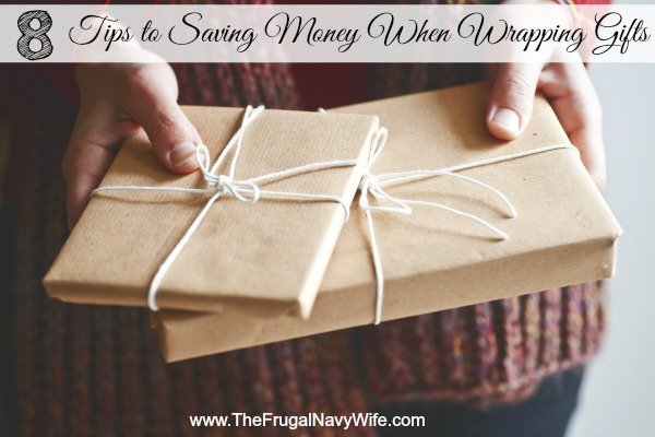 8 Tips to Saving Money when Wrapping Gifts