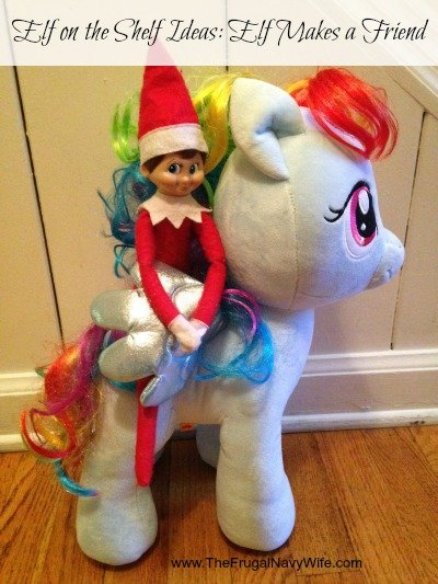 Elf on the Shelf Ideas: Elf Makes a Friend