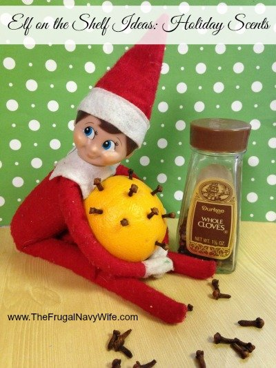 Elf on the Shelf Ideas: Holiday Scents