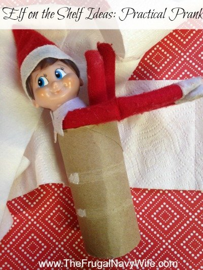 Elf on the Shelf Ideas: Practical Prank