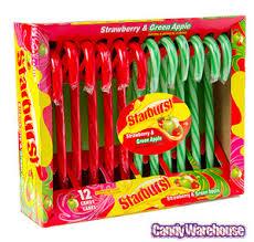 Starburst Candy Cane