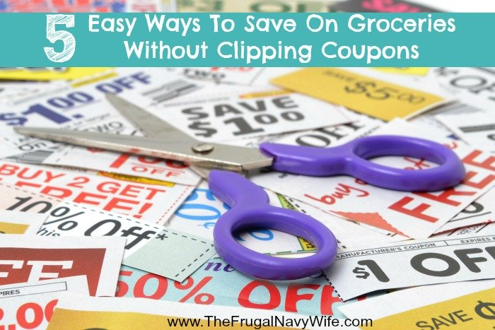 5 Easy Ways To Save On Groceries Without Clipping Coupons