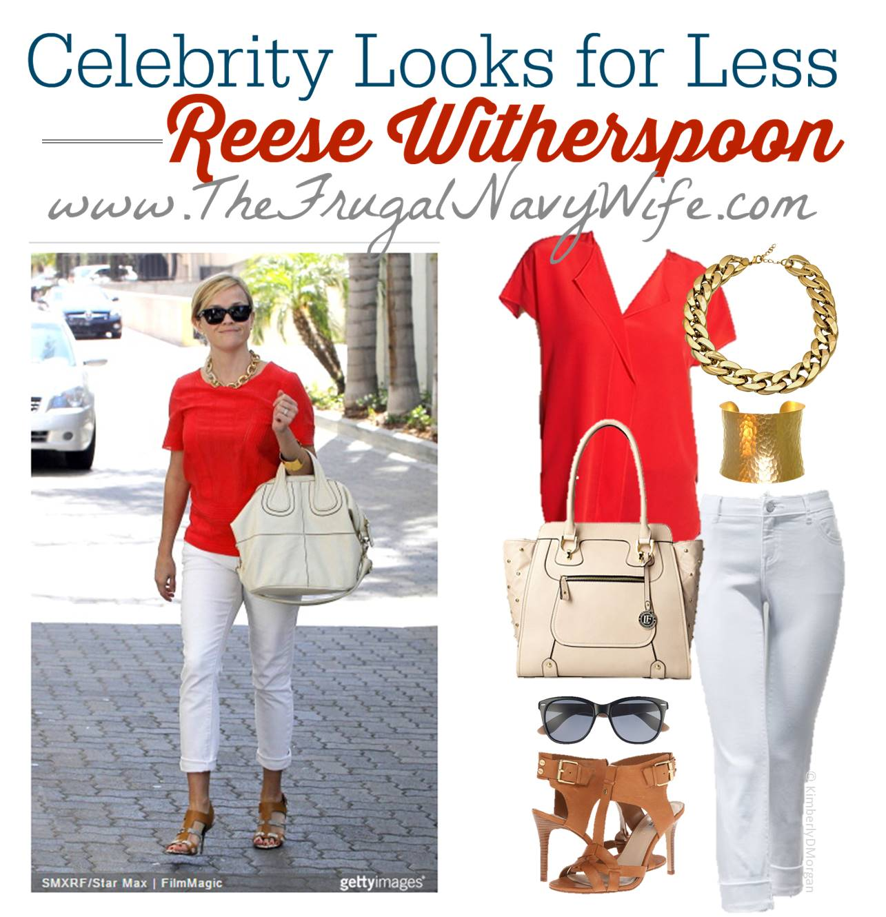 Fashion Friday Celebrity Looks For Less Reese Witherspoon
