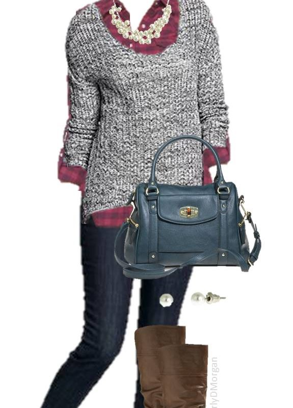 Style Saturday: Casual & Glamorous Winter Outfit