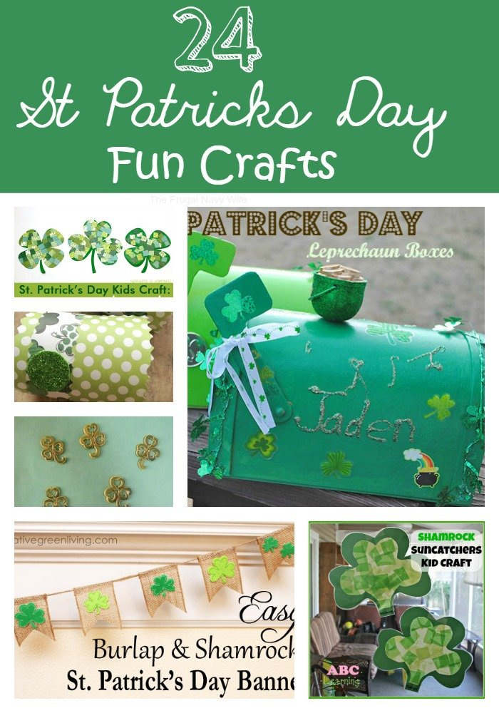 24 St Patricks Day Fun Crafts