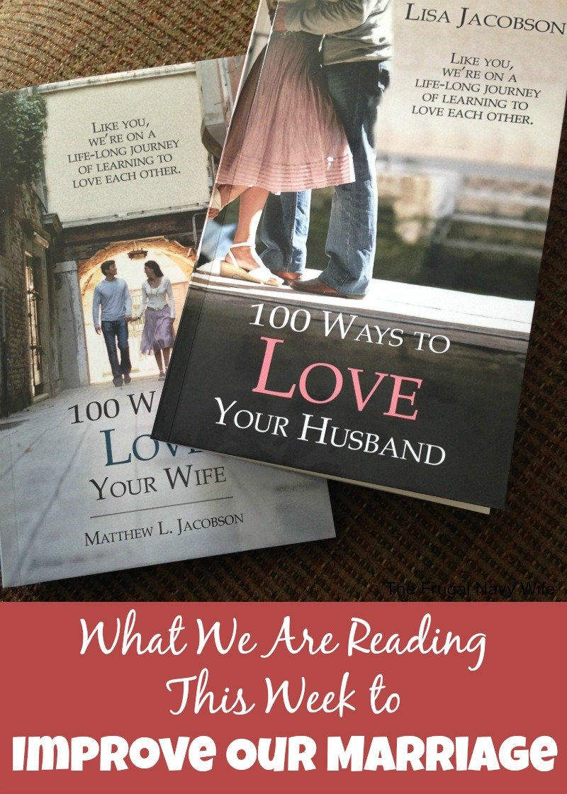 What We Are Reading This Week to Improve Our Marriage